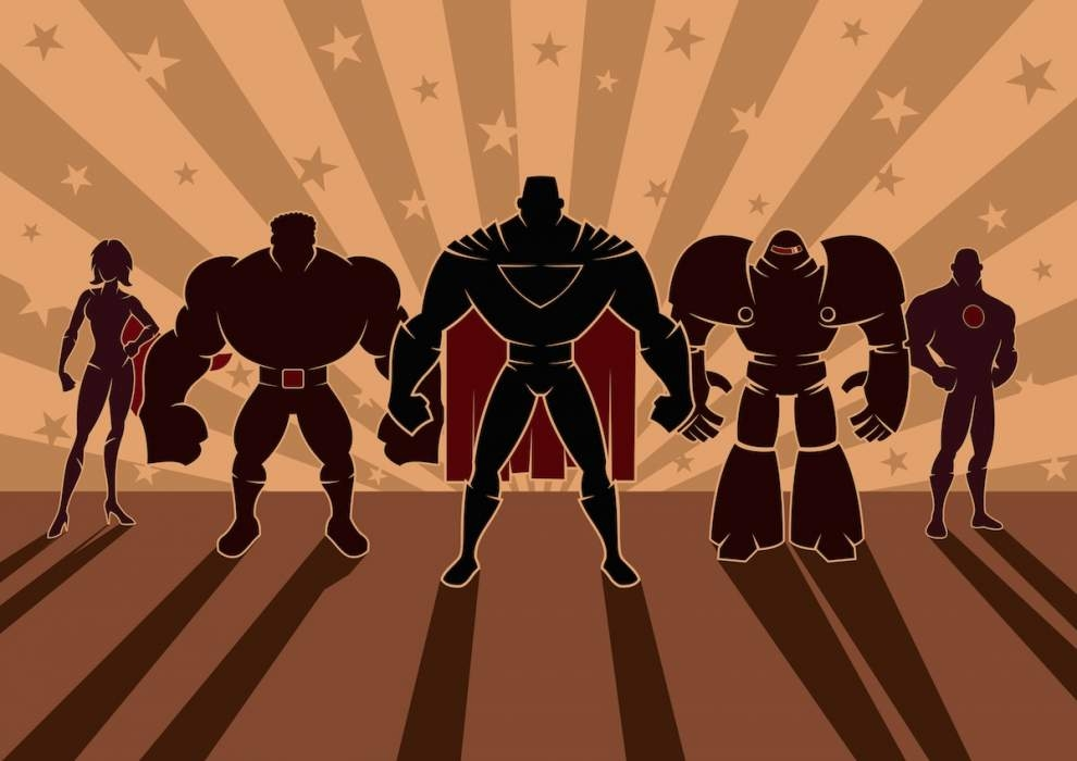 Super Team im Fluchtraum